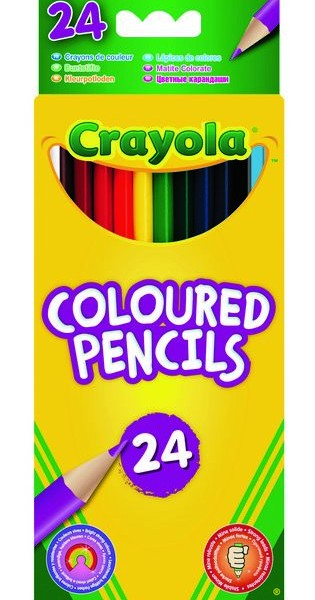 03.3624 24 coloured pencils pack