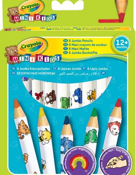 3678 MINI KIDS JUMBO PENCILS