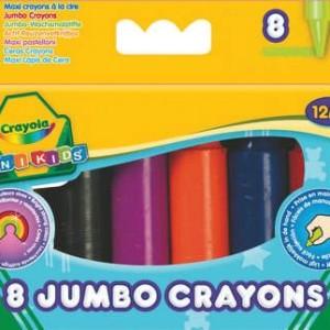 Crayola óriás színes zsírkréta 8 db