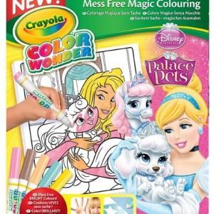 Crayola Color Wonder Maszatmentes kifestő - Hercegnők birodalma
