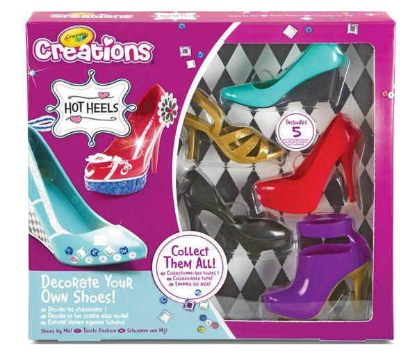 Crayola Creations Cipőtervező 5 db-os
