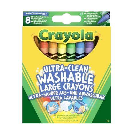 Crayola Extra-kimosható zsírkréta 8 db