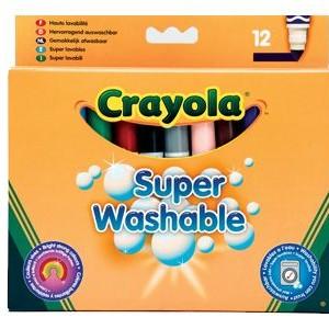 Crayola Filctoll vastag lemosható 12 db