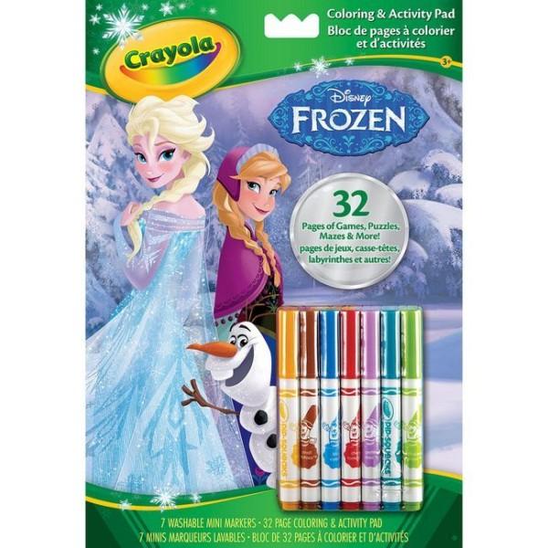 Crayola Jégvarázs kifestő és foglalkoztató