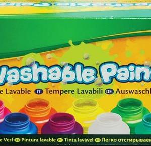 Crayola Lemosható festék 10 színben