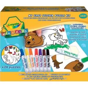 Crayola Mini Kids Matricás puzzle kicsiknek