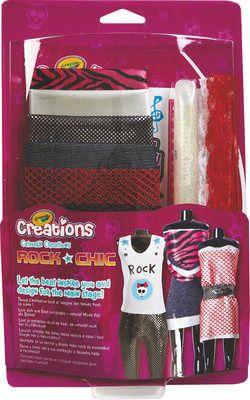 Crayola Rock csajszi divatkollekció