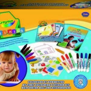 Crayola Színező és matricázó készlet