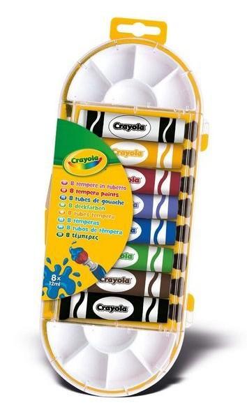 Crayola Temperakészlet 8 db-os