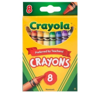 Crayola Zsírkréta készlet 8 db