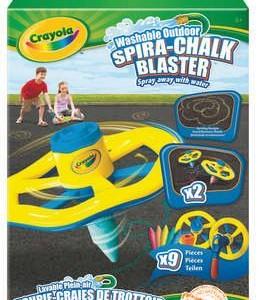 Crayola spirálozószett aszfaltkrétához