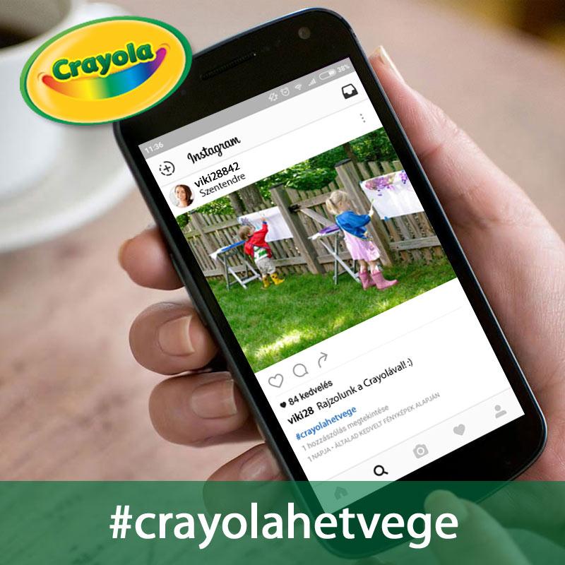 Crayola Hétvége játék - Rajzoljunk együtt!